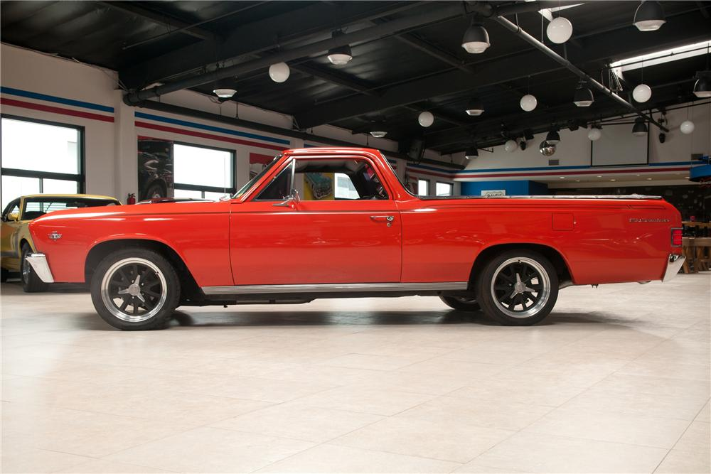 1967 CHEVROLET EL CAMINO CUSTOM PICKUP - Side Profile - 139480