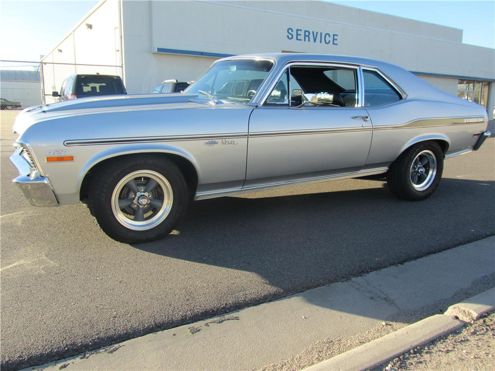 1971 CHEVROLET NOVA YENKO RE-CREATION - Front 3/4 - 139483