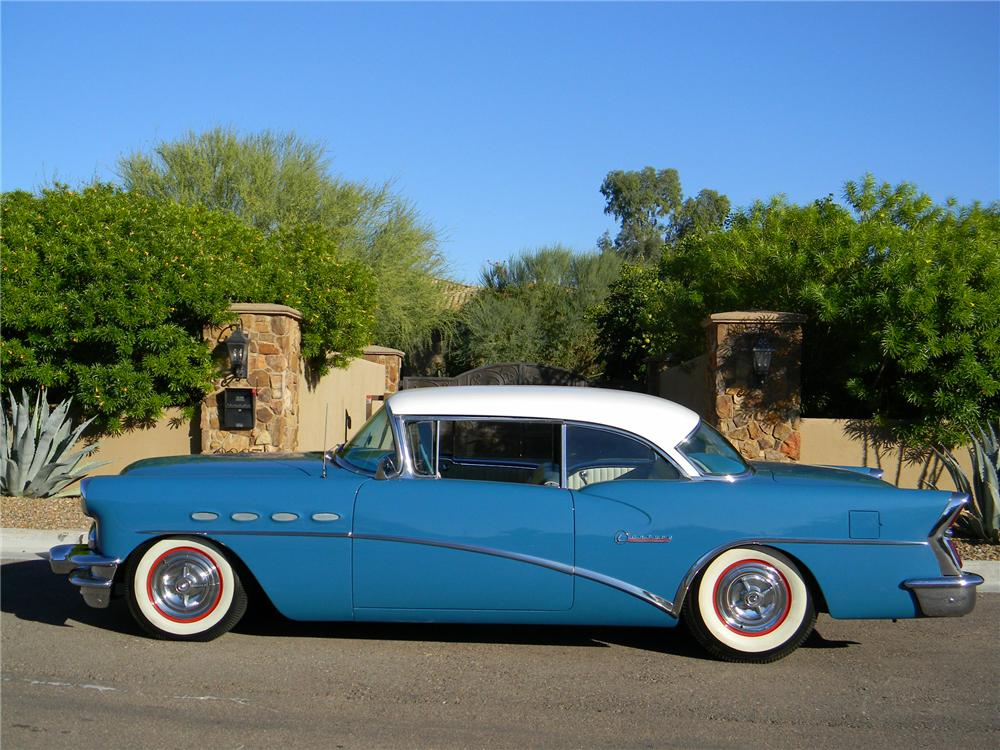 1956 BUICK SPECIAL RIVIERA CUSTOM 2 DOOR HARDTOP - Side Profile - 139494