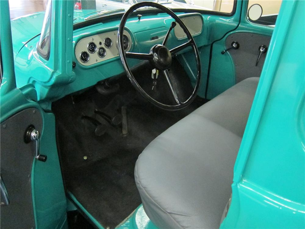 1955 DODGE C-3B PICKUP - Interior - 139495