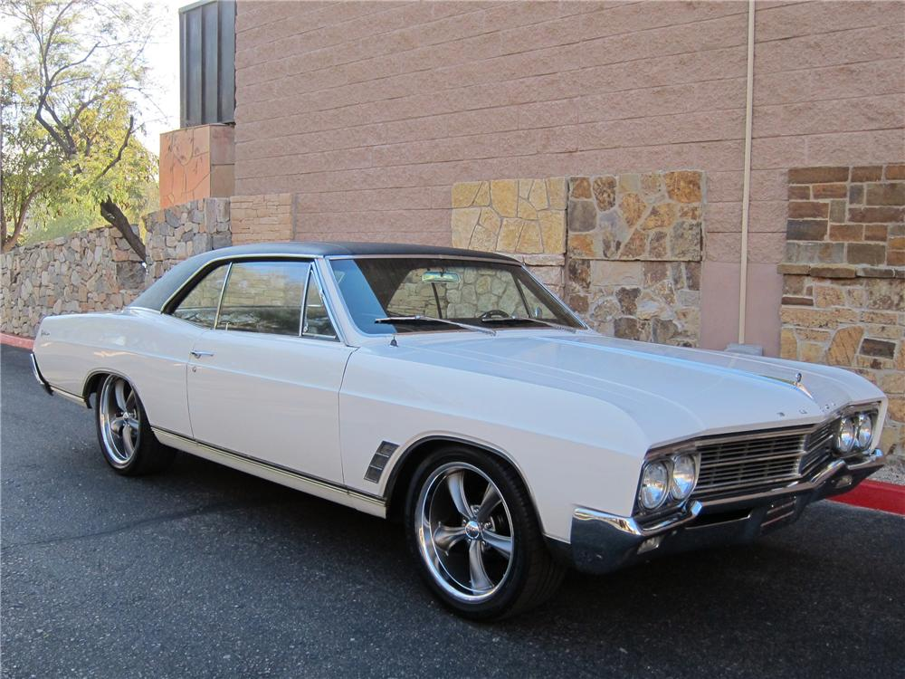 1966 BUICK SKYLARK 2 DOOR HARDTOP - Side Profile - 139499