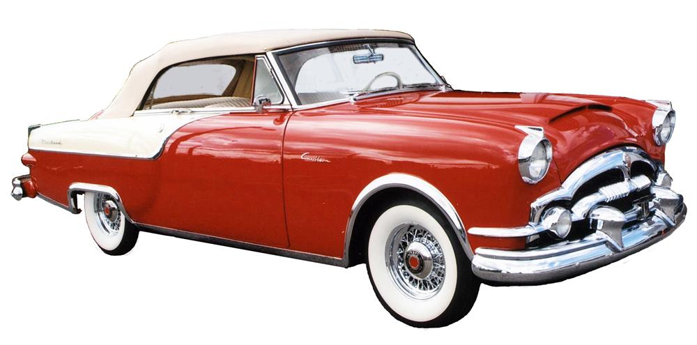 1954 PACKARD CARIBBEAN 2 DOOR CONVERTIBLE - Front 3/4 - 139503
