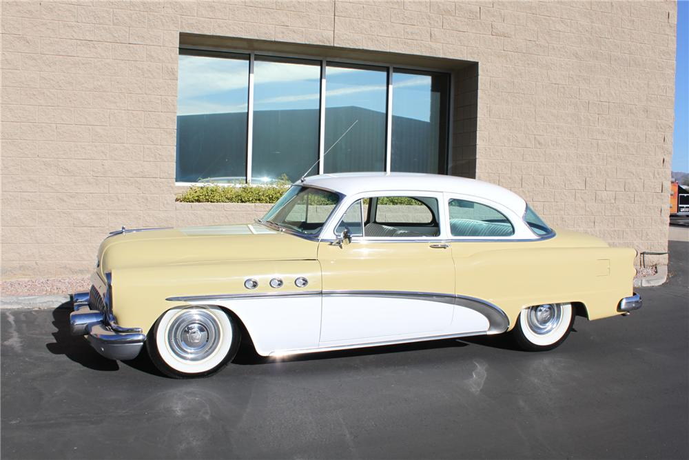 1953 BUICK 2 DOOR HARDTOP - Side Profile - 139586