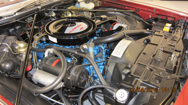 1975 OLDSMOBILE 98 COUPE - Engine - 139599