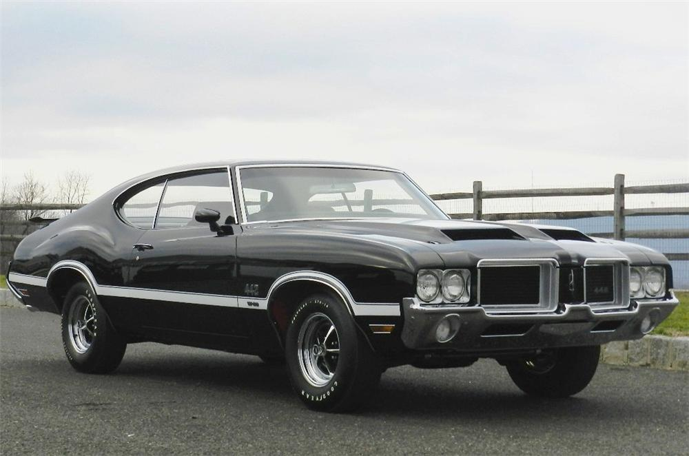 1971 OLDSMOBILE 442 W30 2 DOOR COUPE - Front 3/4 - 139853