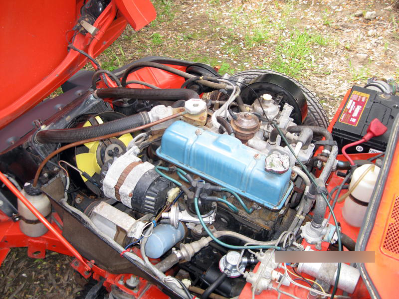 1979 TRIUMPH SPITFIRE CONVERTIBLE - Engine - 139854