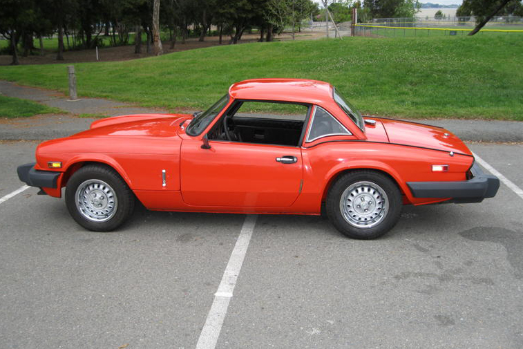 1979 TRIUMPH SPITFIRE CONVERTIBLE - Side Profile - 139854