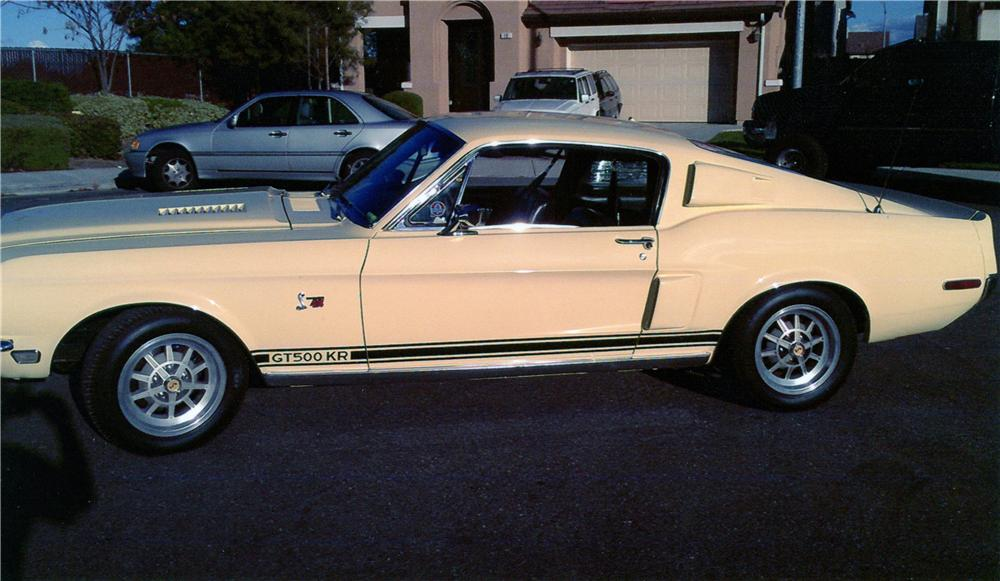 1968 SHELBY GT500 KR FASTBACK - Front 3/4 - 139906