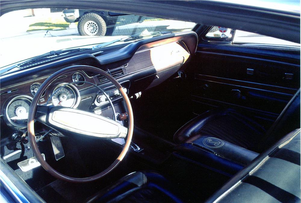 1968 SHELBY GT500 KR FASTBACK - Interior - 139906