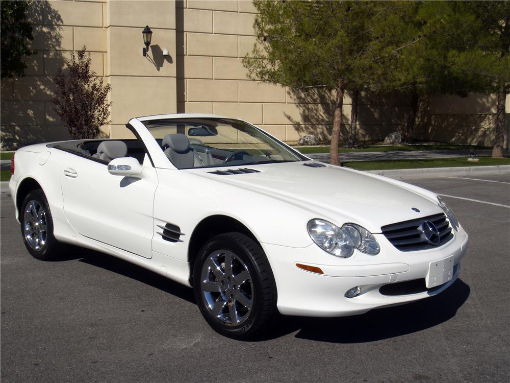2003 mercedes benz 500sl convertible 139909 for 2003 mercedes benz sl500 owners manual