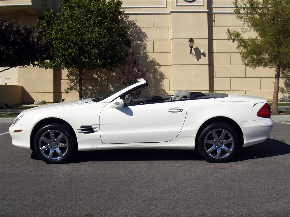 2003 MERCEDES-BENZ 500SL CONVERTIBLE - Side Profile - 139909