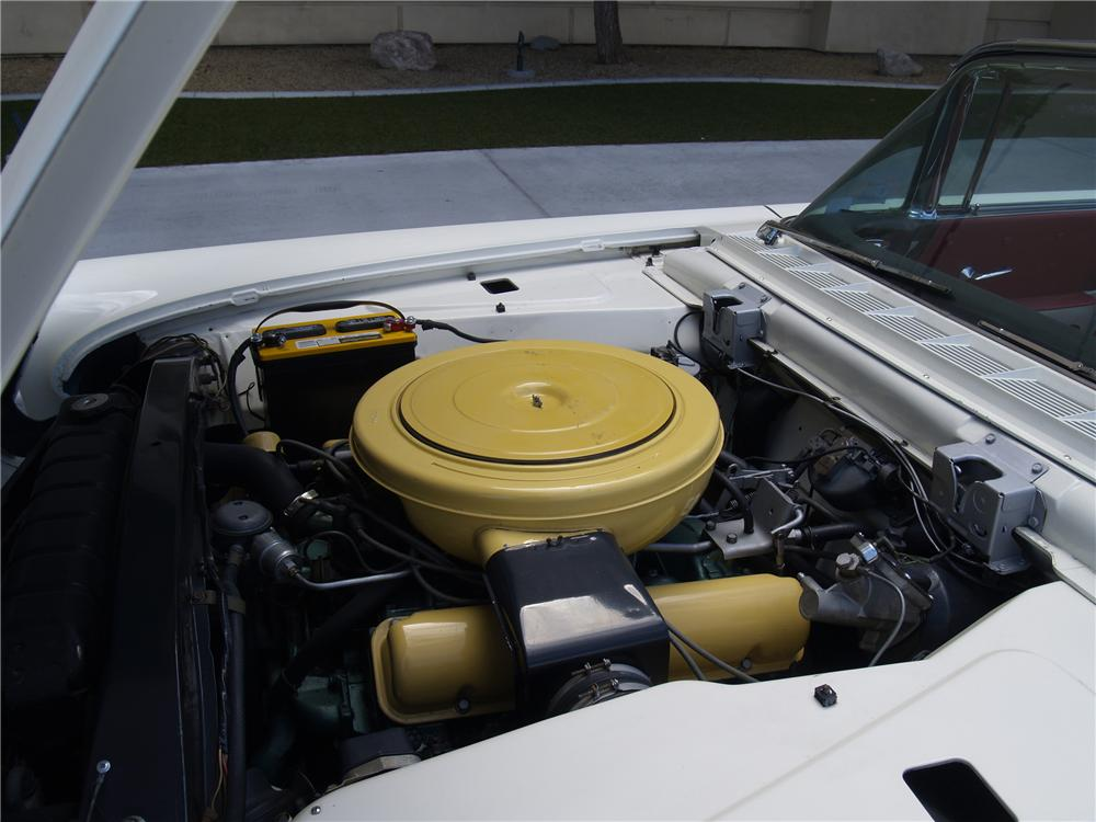 1958 LINCOLN CONTINENTAL MARK III CONVERTIBLE - Engine - 139912