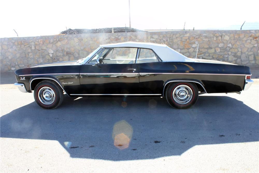 1966 CHEVROLET IMPALA SS CONVERTIBLE - Side Profile - 139924