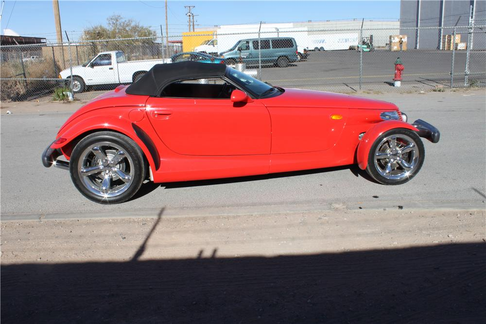 1999 PLYMOUTH PROWLER CONVERTIBLE - Front 3/4 - 139926