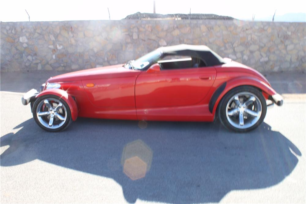 1999 PLYMOUTH PROWLER CONVERTIBLE - Side Profile - 139926