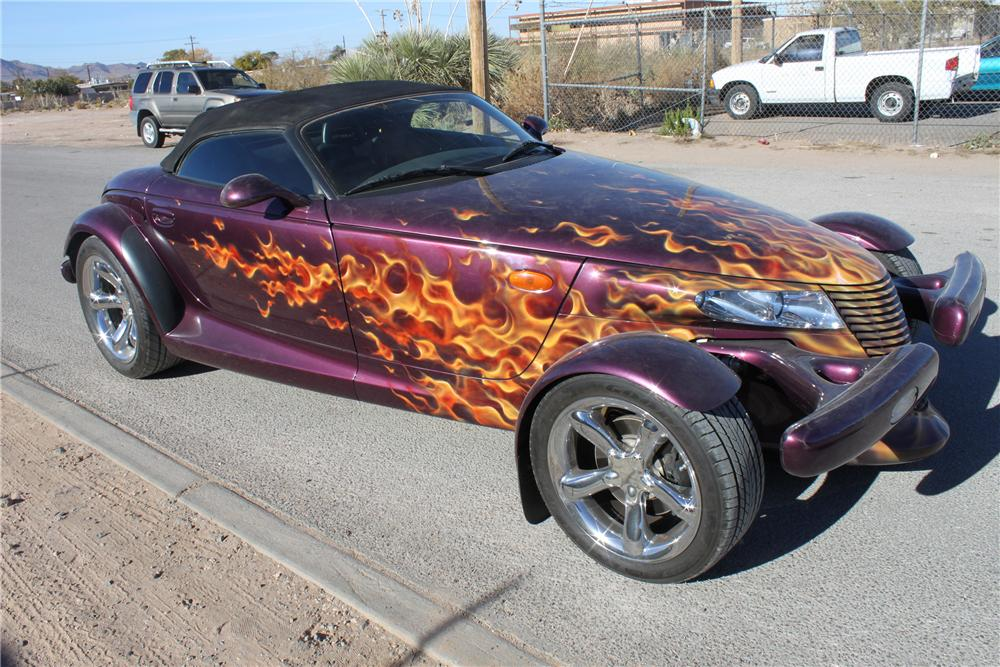 1999 PLYMOUTH PROWLER CONVERTIBLE - Front 3/4 - 139929