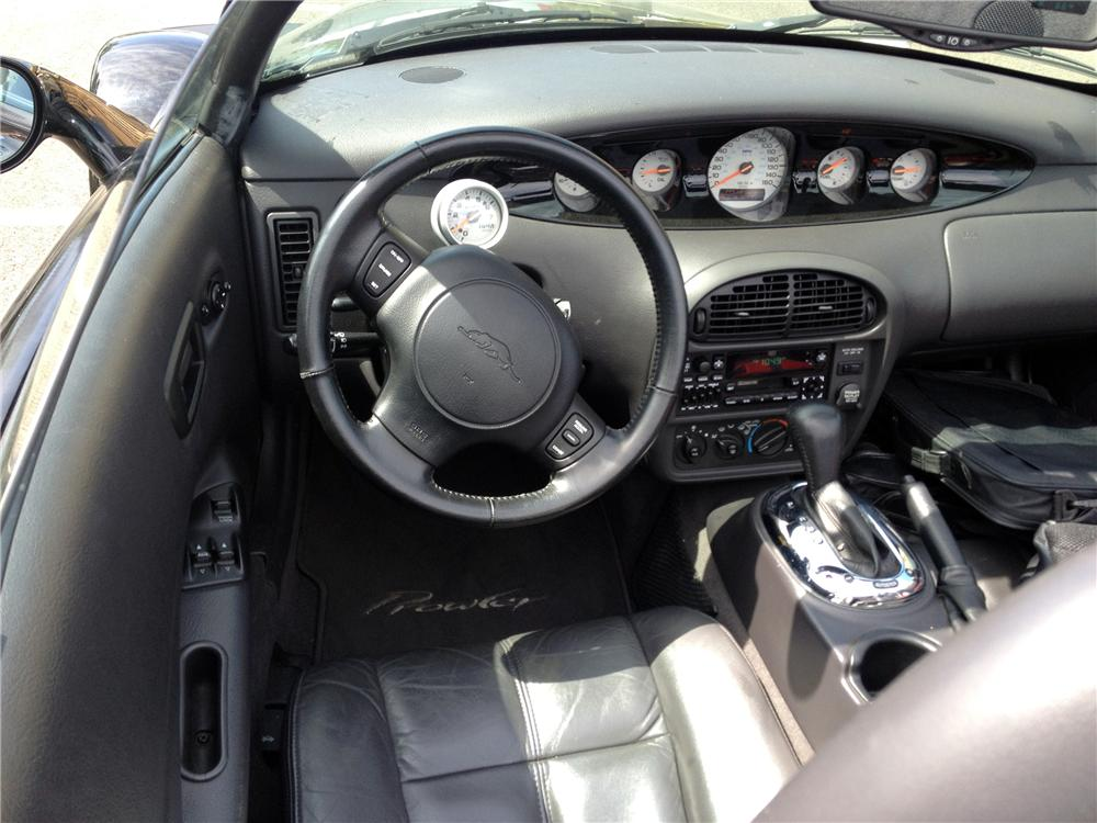2000 PLYMOUTH PROWLER CONVERTIBLE - Interior - 139930