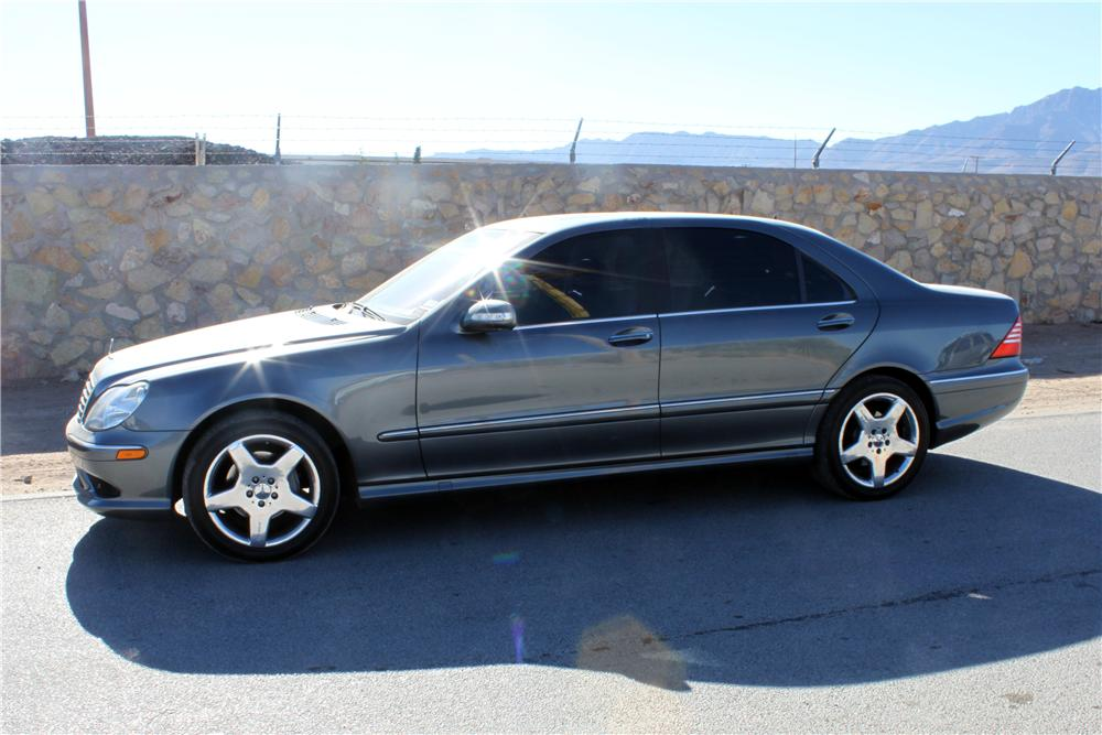 2005 MERCEDES-BENZ S430 4 DOOR SEDAN - Front 3/4 - 139936