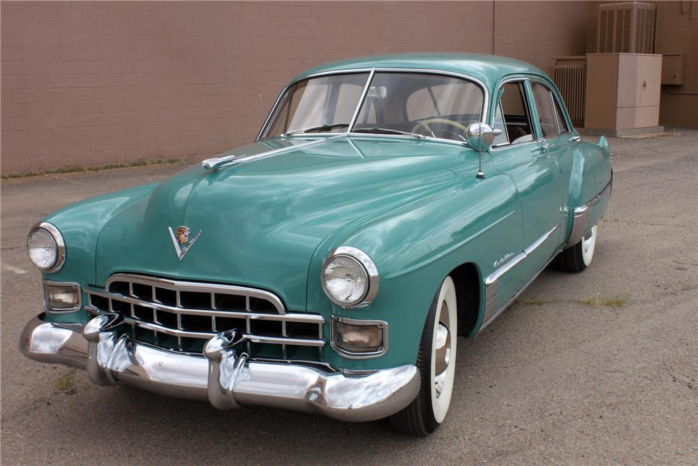 1948 CADILLAC SERIES 62 4 DOOR SEDAN - Front 3/4 - 139946