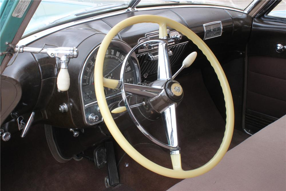 1948 CADILLAC SERIES 62 4 DOOR SEDAN - Interior - 139946