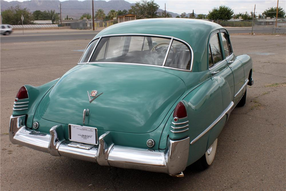 1948 CADILLAC SERIES 62 4 DOOR SEDAN - Rear 3/4 - 139946