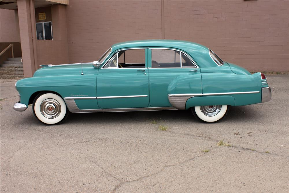 1948 CADILLAC SERIES 62 4 DOOR SEDAN - Side Profile - 139946