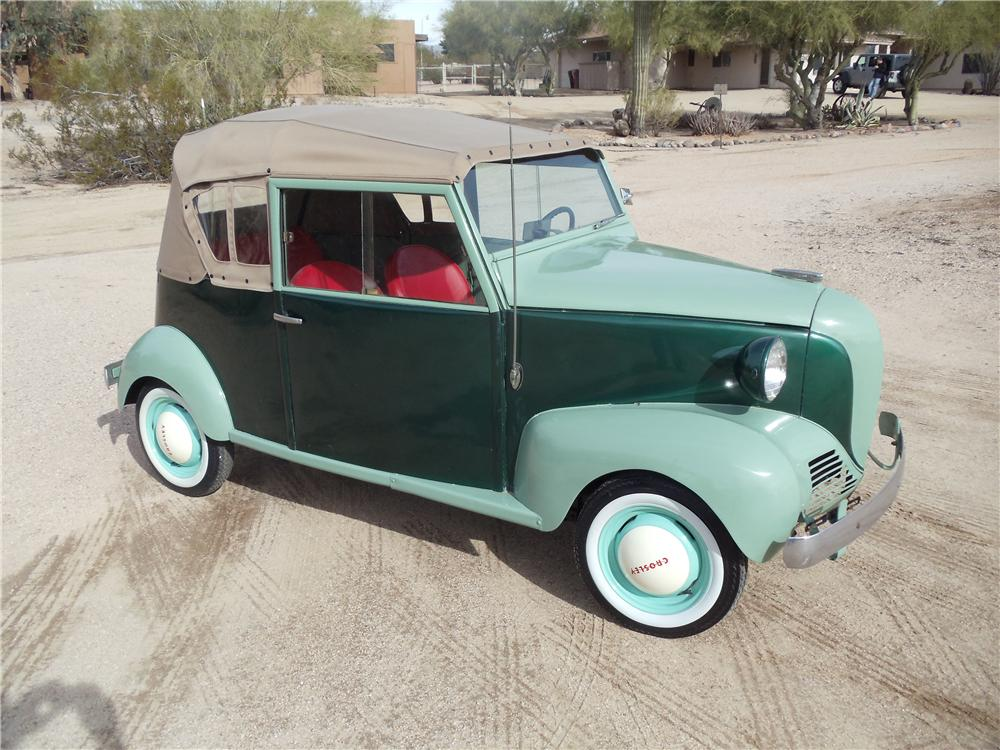 1940 CROSLEY CONVERTIBLE - Front 3/4 - 139952