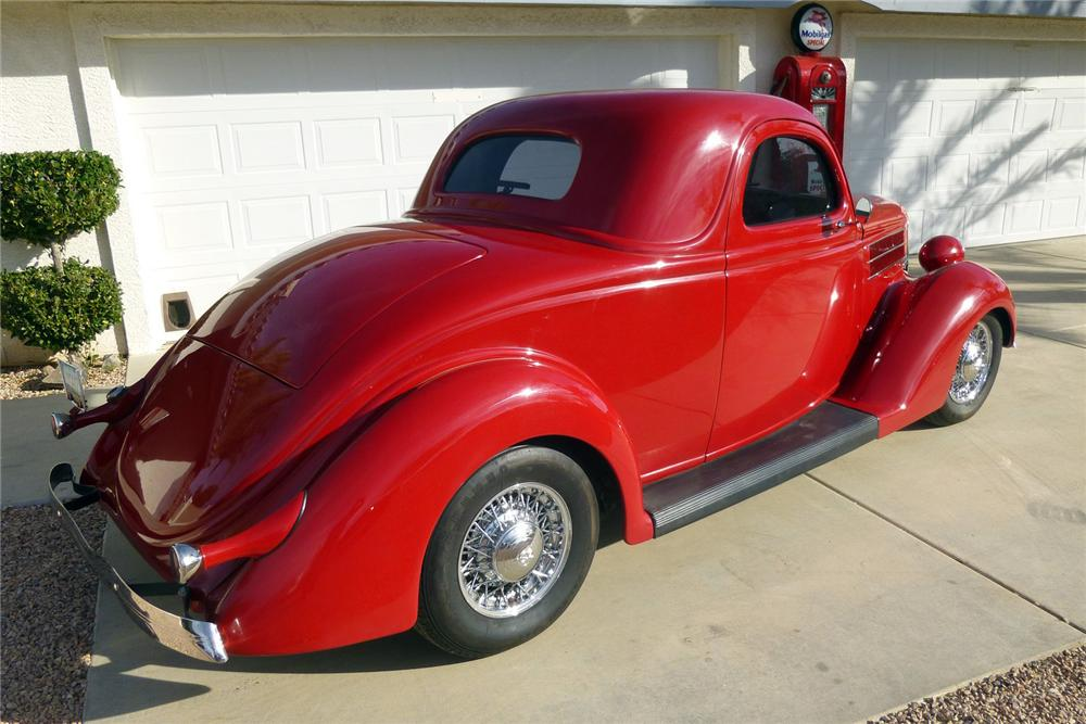 1936 ford 3 window custom 2 door coupe 139953 for 1936 ford 3 window