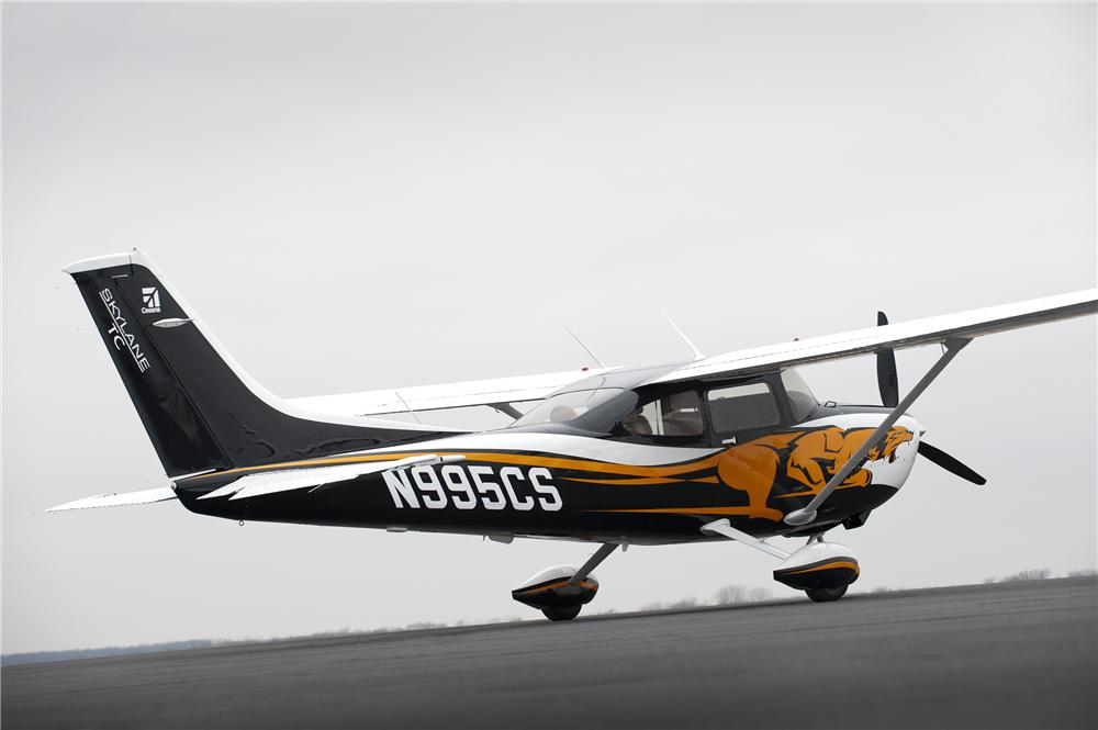 2013 CESSNA T182 TURBO SKYLANE - Rear 3/4 - 141093