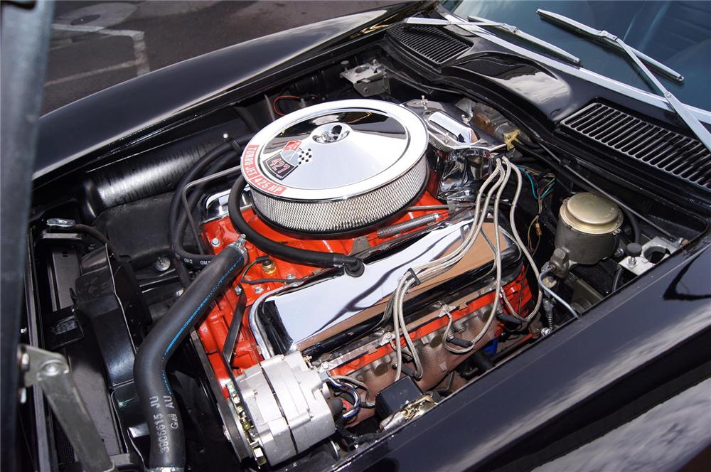 1966 CHEVROLET CORVETTE CONVERTIBLE - Engine - 142154