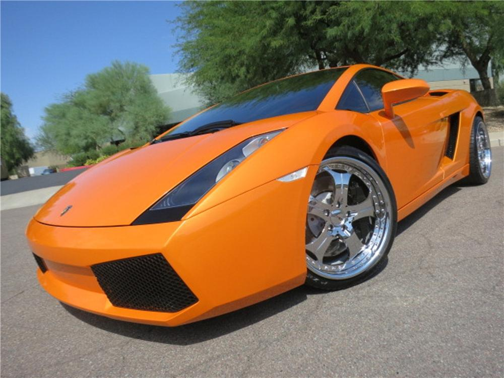 2005 LAMBORGHINI GALLARDO 2 DOOR COUPE - Front 3/4 - 142793