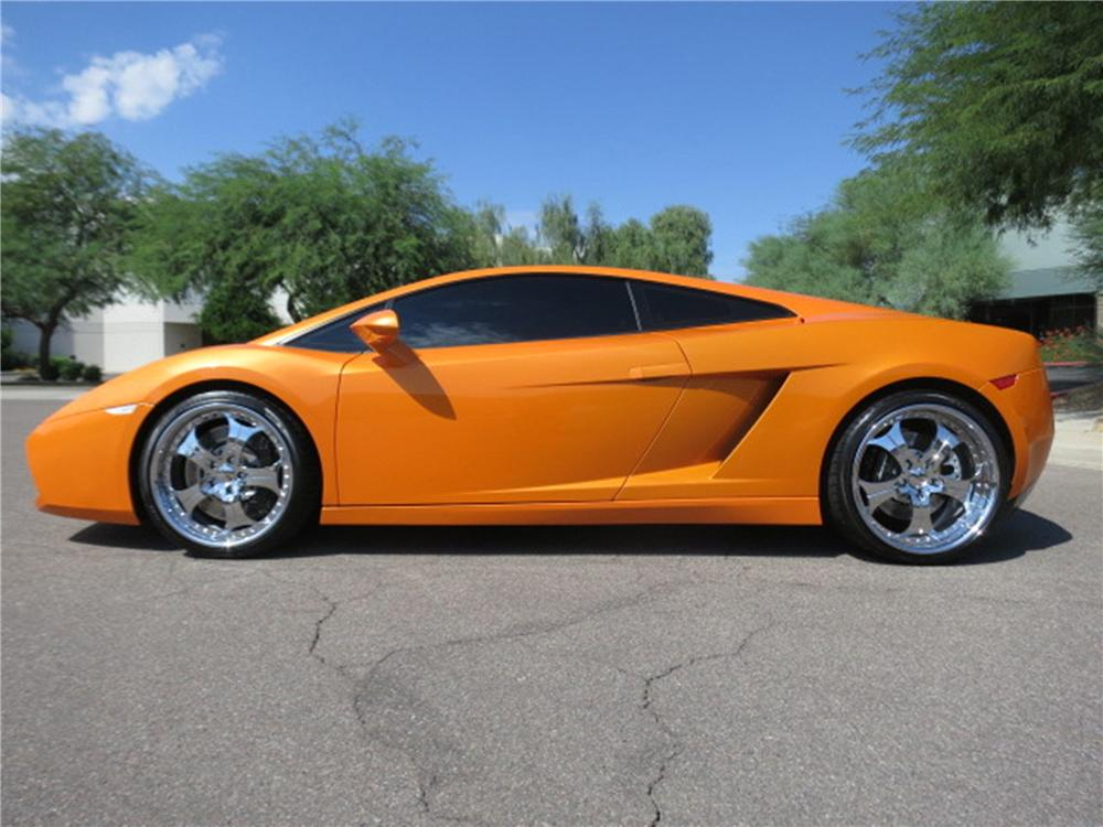 2005 LAMBORGHINI GALLARDO 2 DOOR COUPE - Side Profile - 142793