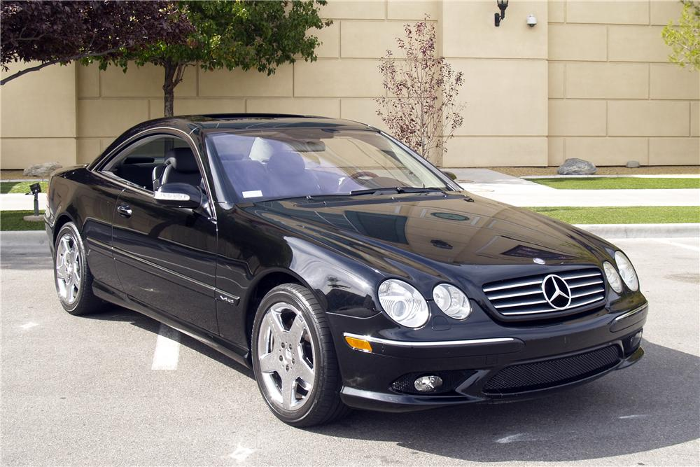 2005 mercedes benz cl600 2 door coupe 147733 for Mercedes benz cl600 price