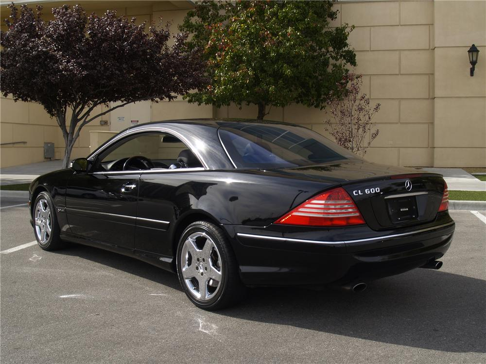 2005 MERCEDES-BENZ CL600 2 DOOR COUPE - Rear 3/4 - 147733
