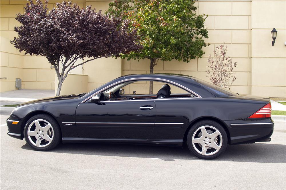 2005 MERCEDES-BENZ CL600 2 DOOR COUPE - Side Profile - 147733