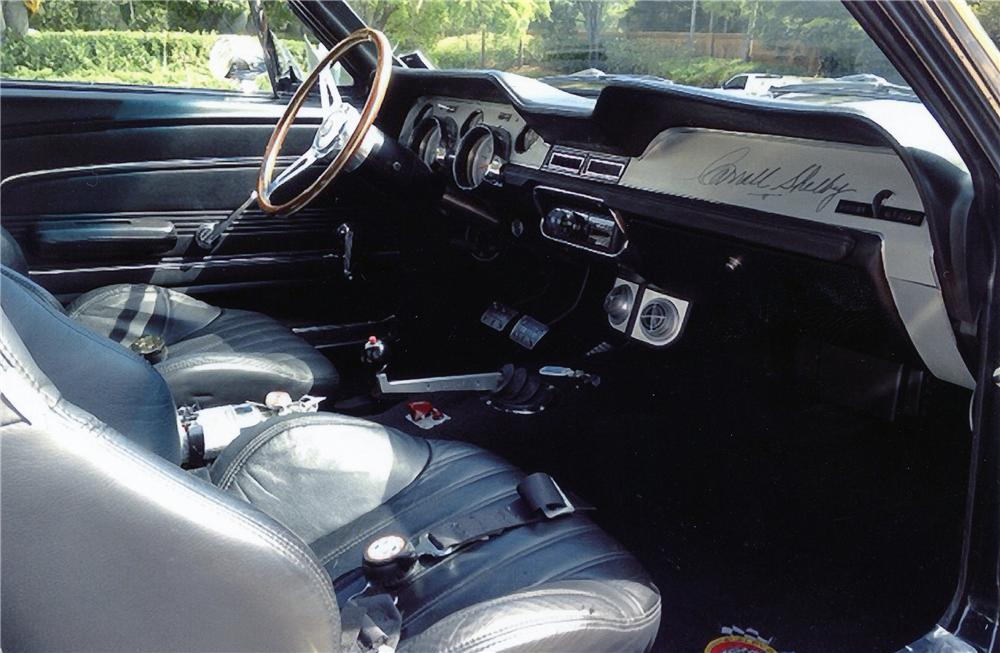 1968 SHELBY GT500 E CONTINUATION FASTBACK - Interior - 151329