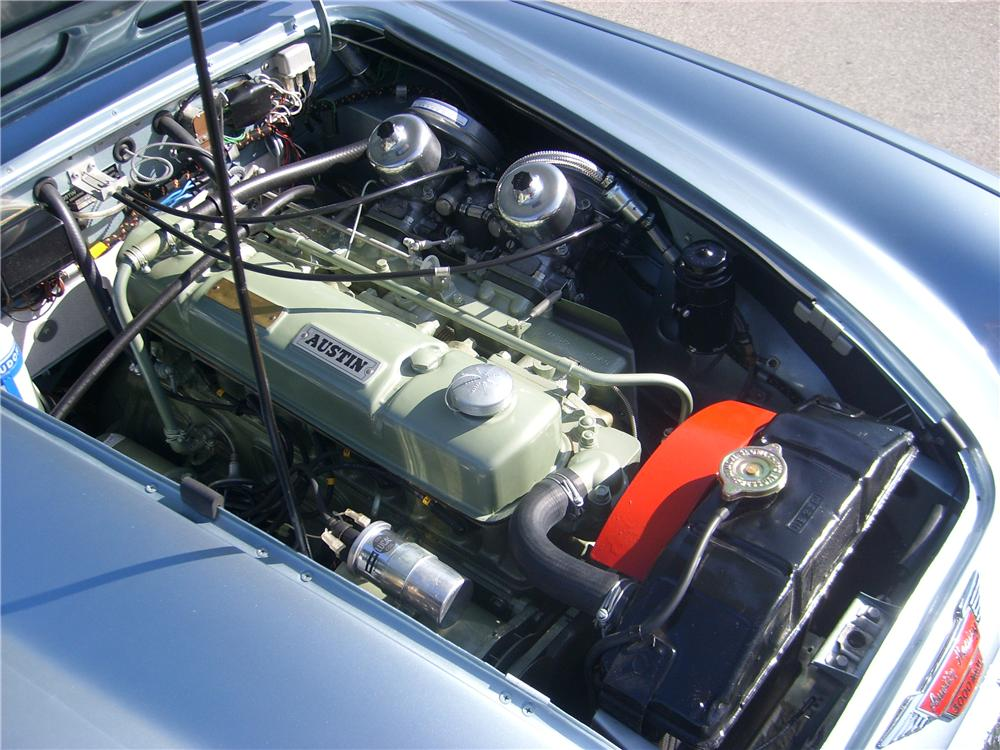 1966 AUSTIN-HEALEY 3000 MARK III BJ8 CONVERTIBLE - Engine - 151331