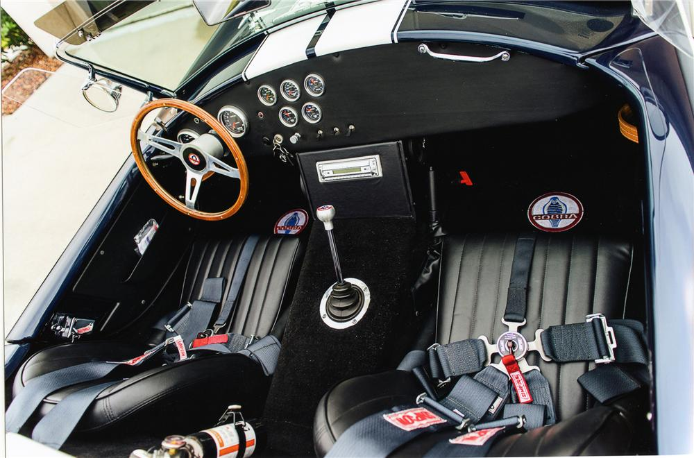 1965 SHELBY COBRA RE-CREATION ROADSTER - Interior - 151335