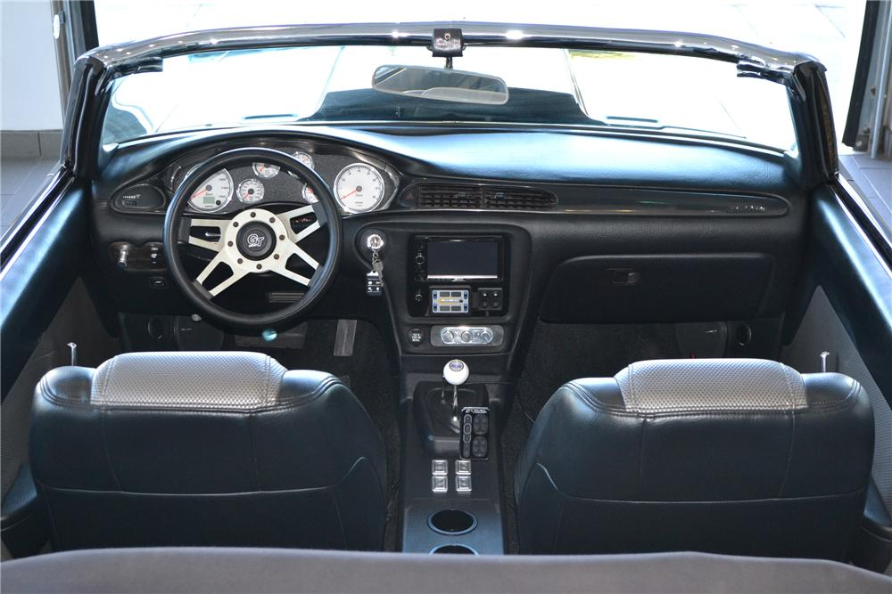 1969 CHEVROLET CAMARO CUSTOM CONVERTIBLE - Interior - 151336