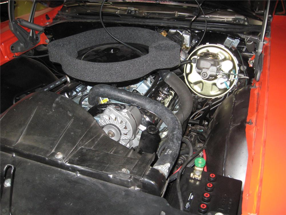 1969 PONTIAC GTO JUDGE 2 DOOR COUPE - Engine - 151337