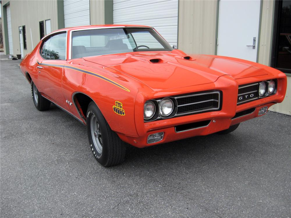 1969 PONTIAC GTO JUDGE 2 DOOR COUPE - Front 3/4 - 151337
