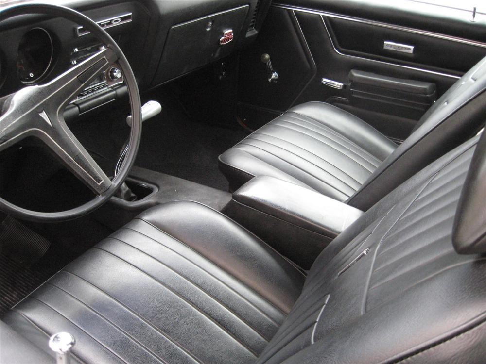 1969 PONTIAC GTO JUDGE 2 DOOR COUPE - Interior - 151337