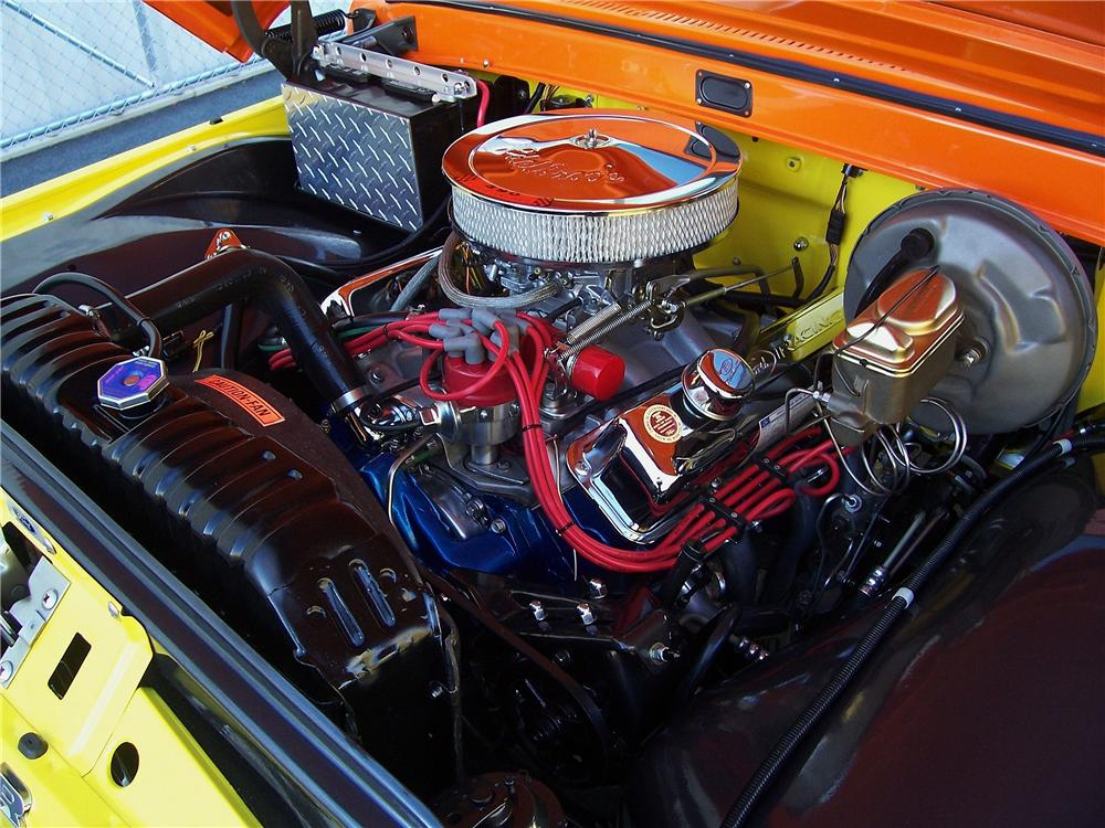 1962 FORD F-100 CUSTOM PICKUP - Engine - 151338