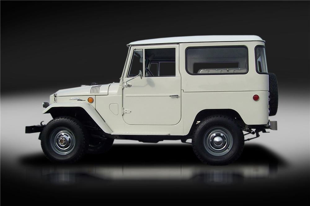 1969 Toyota Land Cruiser Fj 40 2 Door Hardtop 151339