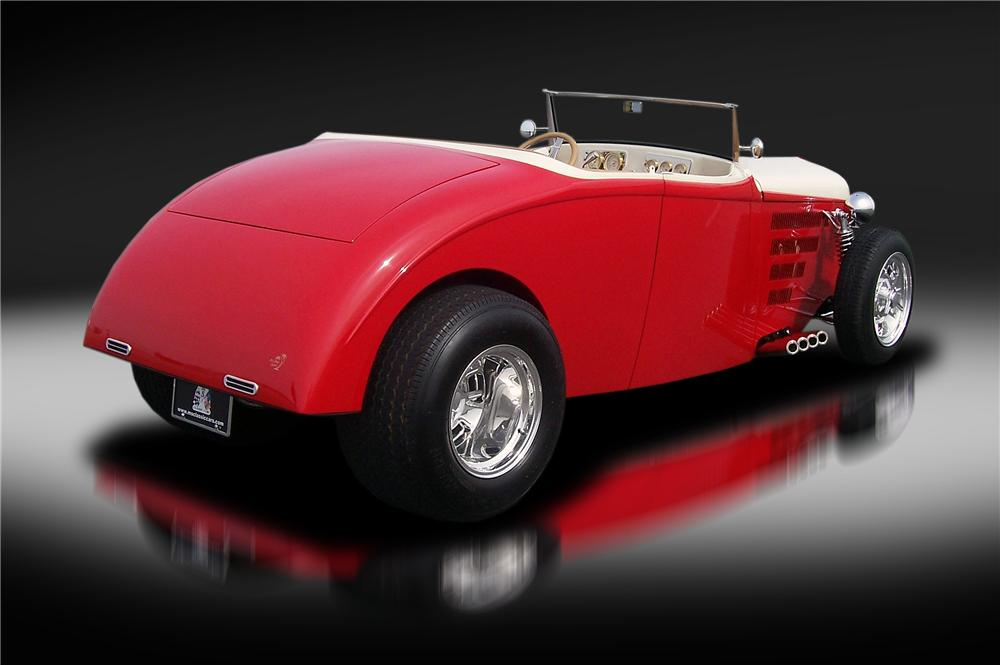 1933 WILLYS CUSTOM HI BOY ROADSTER - Rear 3/4 - 151341