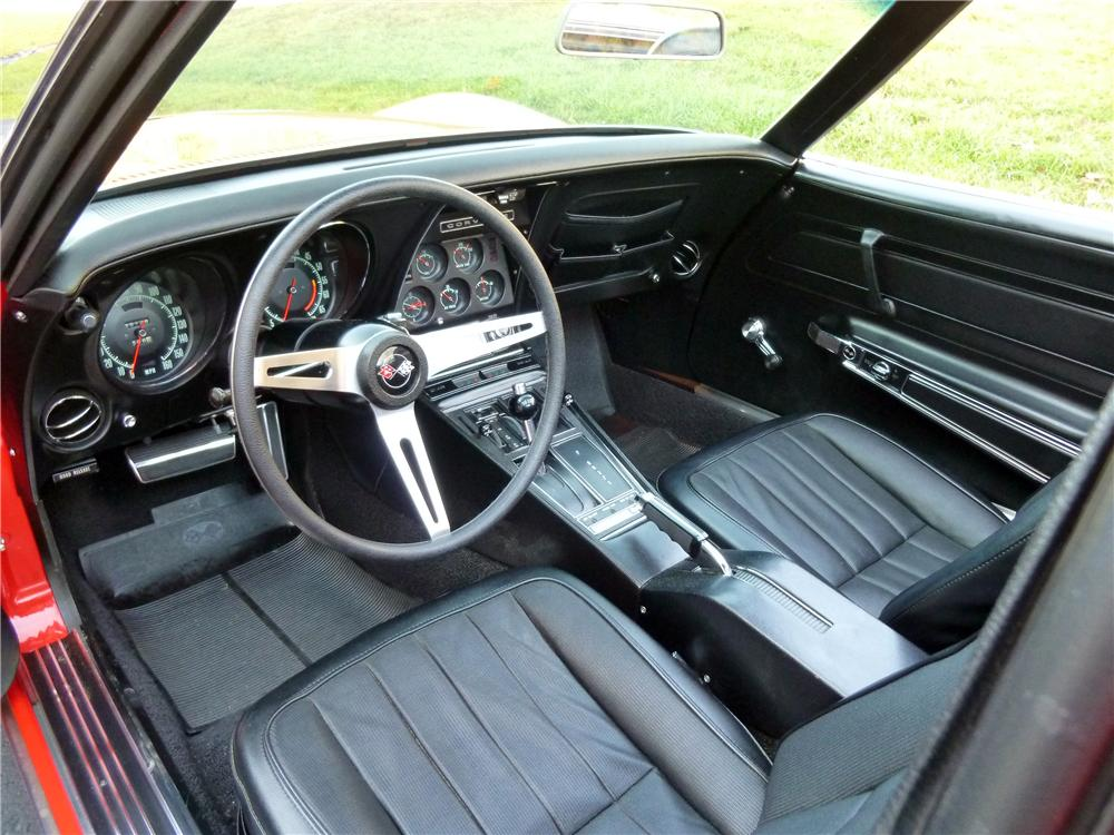 1970 CHEVROLET CORVETTE 2 DOOR COUPE - Interior - 151345