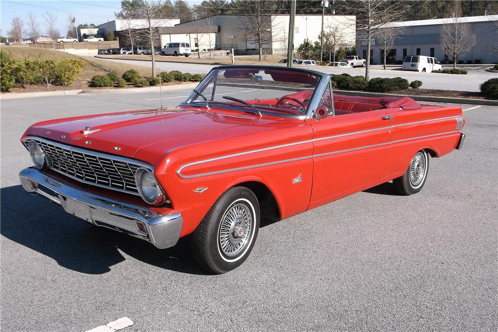 1964 FORD FALCON CONVERTIBLE - Front 3/4 - 151359