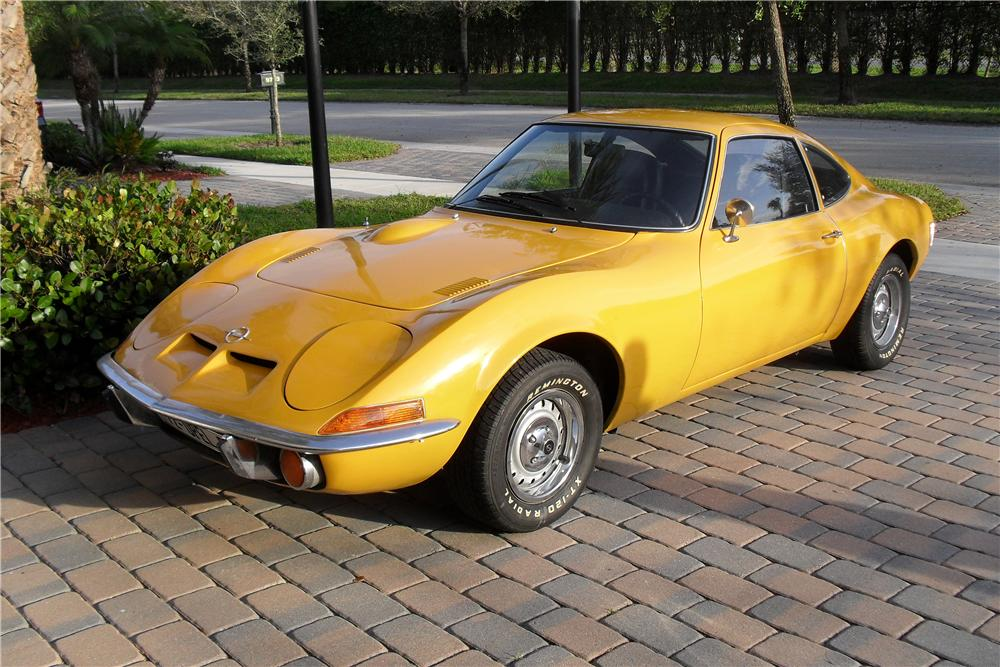 1972 opel gt value
