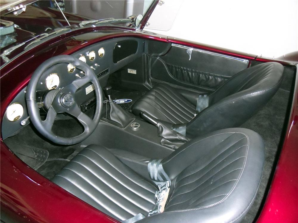 1965 SHELBY COBRA RE-CREATION ROADSTER - Interior - 151373