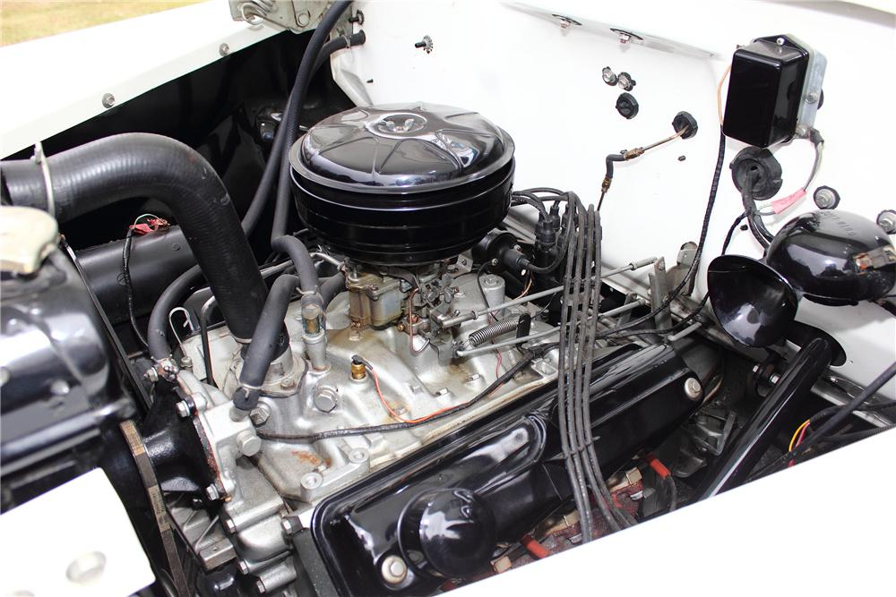 1957 DODGE D-100 SWEPTSIDE PICKUP - Engine - 151375